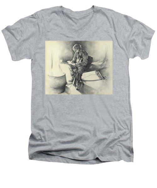 Letter From Home Men's V-Neck T-Shirt