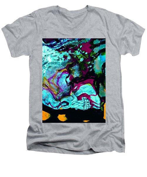 Death Study-4 Men's V-Neck T-Shirt
