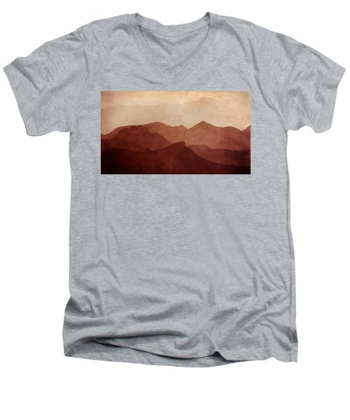 Death Valley Men's V-Neck T-Shirt