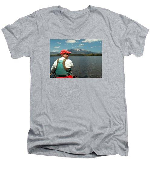 Debsconeag Deadwater Men's V-Neck T-Shirt