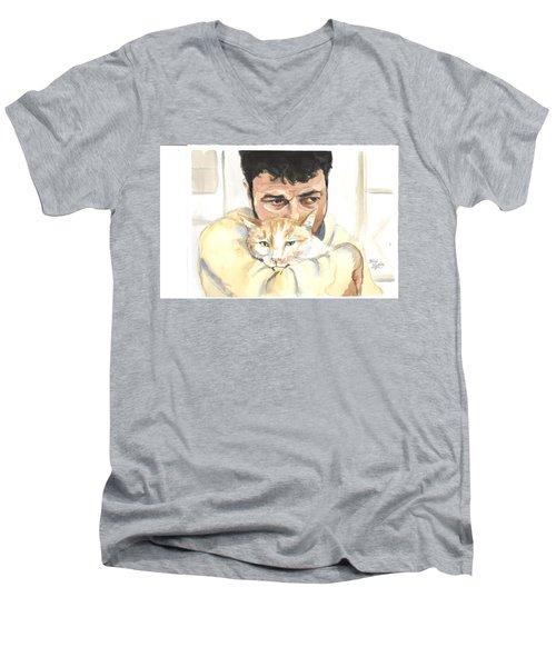 December Alaa And Ernesto Men's V-Neck T-Shirt