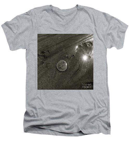 Deceptively Clear Men's V-Neck T-Shirt
