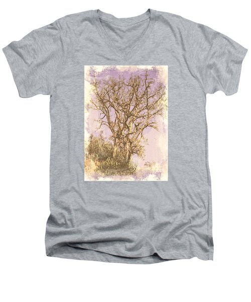 Deciduous Men's V-Neck T-Shirt