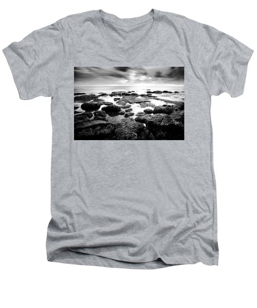 Men's V-Neck T-Shirt featuring the photograph Decisions by Ryan Weddle