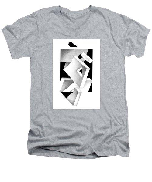 Decline And Fall 4 Men's V-Neck T-Shirt
