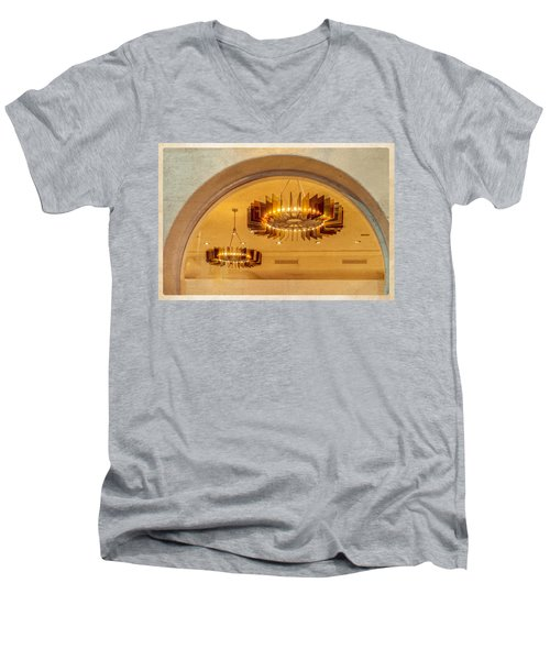 Deco Arches Men's V-Neck T-Shirt