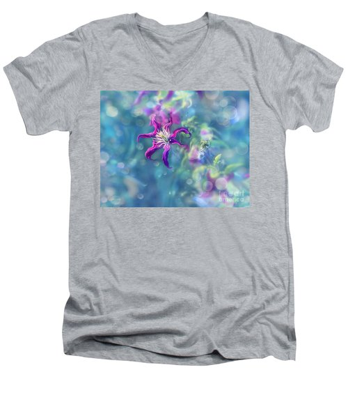 Dedicated To... Men's V-Neck T-Shirt by Agnieszka Mlicka