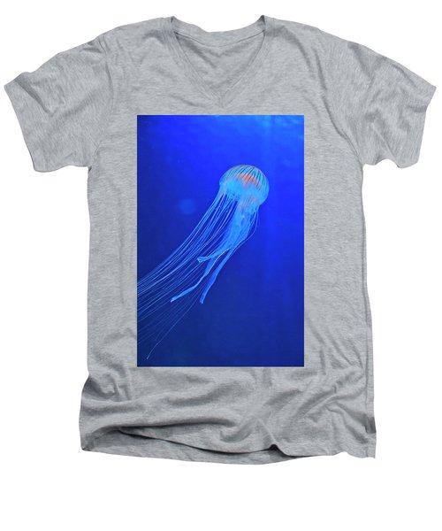 Deep Blue Sea Men's V-Neck T-Shirt