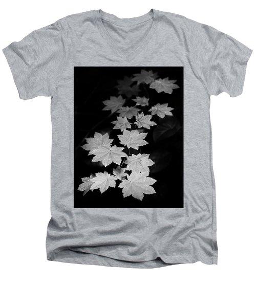 Deep Forest Maple Men's V-Neck T-Shirt