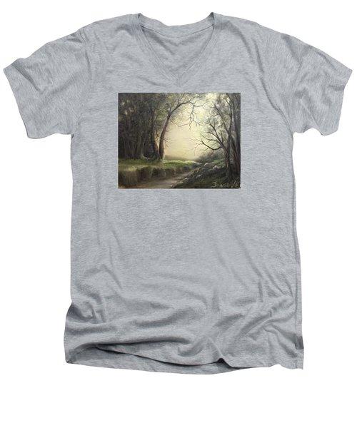 Deep Hollow  Men's V-Neck T-Shirt