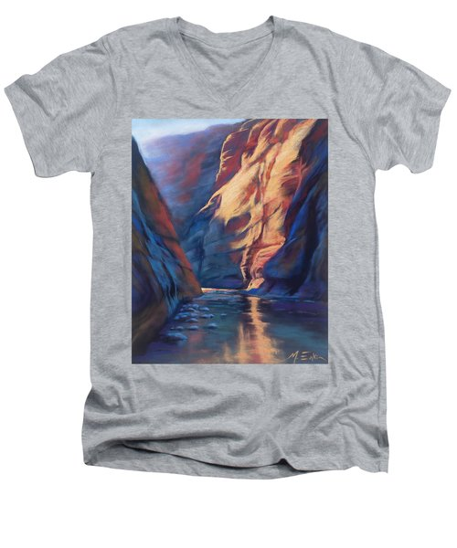 Deep In The Canyon Men's V-Neck T-Shirt