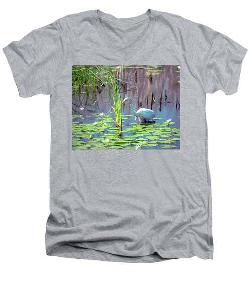 Deep In The Water Men's V-Neck T-Shirt