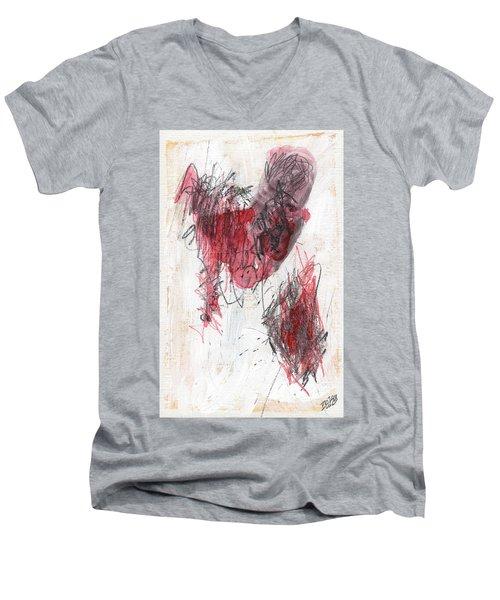 Deep Meat Men's V-Neck T-Shirt