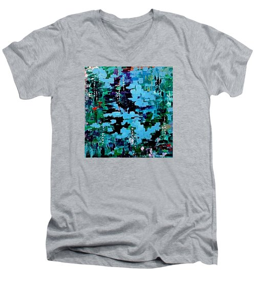 Deep Pool  Men's V-Neck T-Shirt