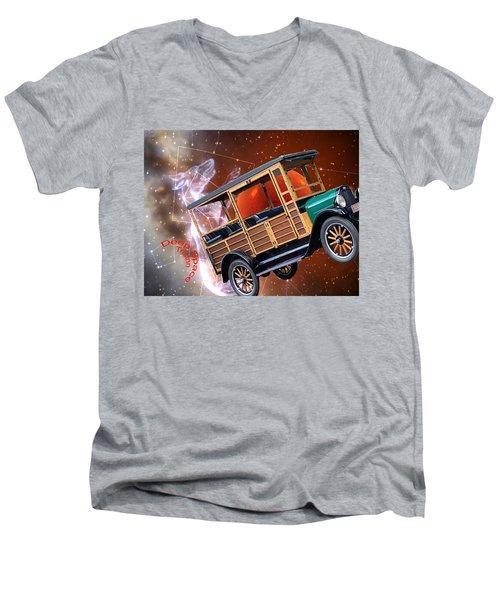 Deep Space Men's V-Neck T-Shirt
