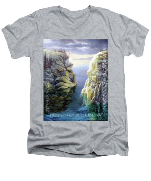 Deep Water Men's V-Neck T-Shirt