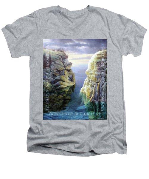 Deep Water Men's V-Neck T-Shirt