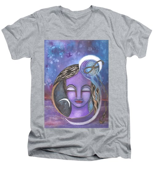 Deep Within Men's V-Neck T-Shirt