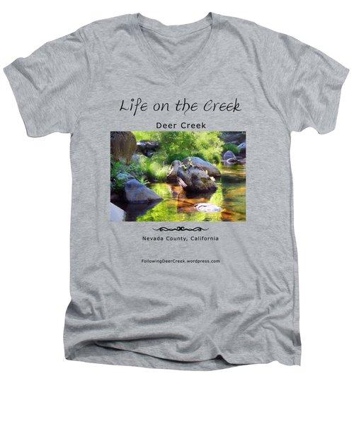 Deer Creek Ferns Men's V-Neck T-Shirt