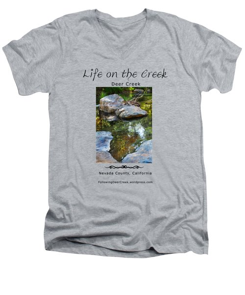 Deer Creek Point Men's V-Neck T-Shirt