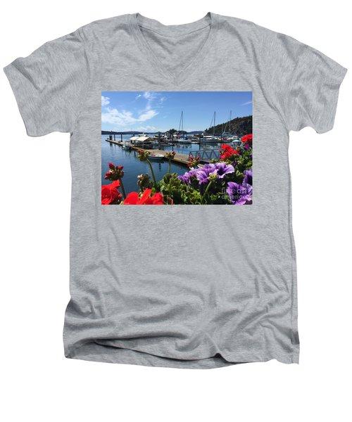 Deer Harbor By Day Men's V-Neck T-Shirt
