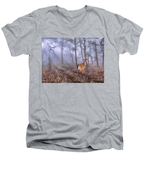 Deer Me Men's V-Neck T-Shirt