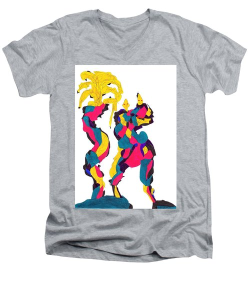 Definism Island Men's V-Neck T-Shirt