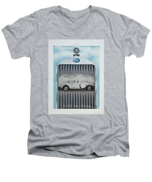 Delage #8712 Men's V-Neck T-Shirt