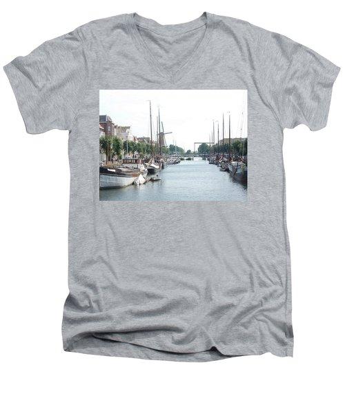 Delfshaven Men's V-Neck T-Shirt