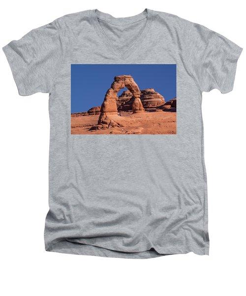 Delicate Arch - 8574 Men's V-Neck T-Shirt