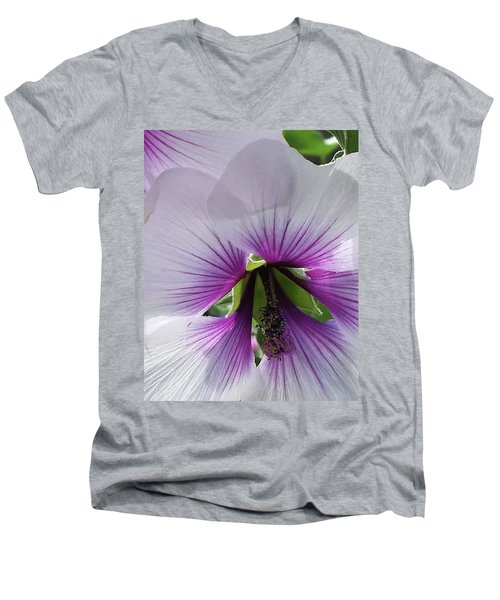 Delicate Flower 2 Men's V-Neck T-Shirt