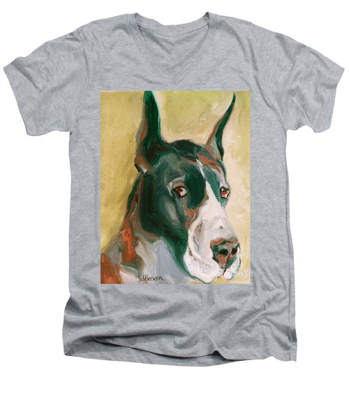 Delicious Dane Men's V-Neck T-Shirt