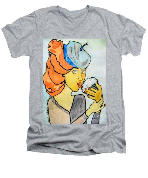 Delicious Men's V-Neck T-Shirt
