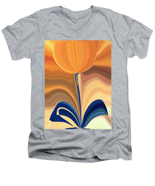 Delighted Men's V-Neck T-Shirt
