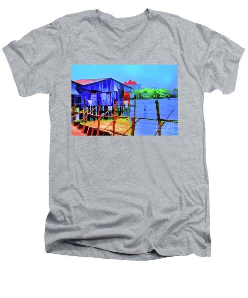 Delta Cove Men's V-Neck T-Shirt