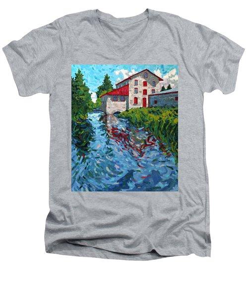 Delta Morning Men's V-Neck T-Shirt
