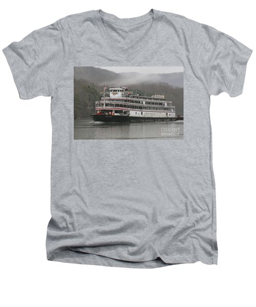 Delta Queen Men's V-Neck T-Shirt