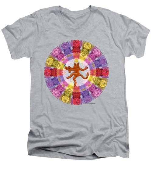 Deluxe Tribute To Tuko Men's V-Neck T-Shirt by John Deecken