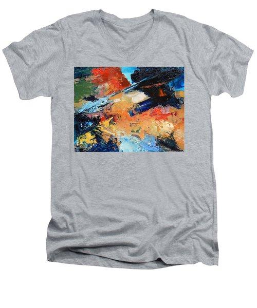 Demo Sketch Men's V-Neck T-Shirt