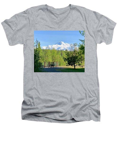 Denali Men's V-Neck T-Shirt