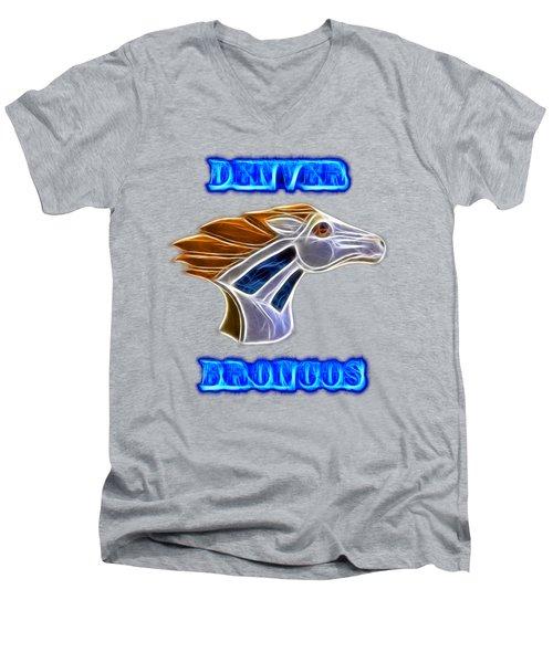 Denver Broncos 2 Men's V-Neck T-Shirt