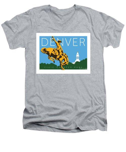 Denver Civic Center Park Men's V-Neck T-Shirt