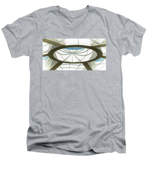 Departing San Diego's Web Men's V-Neck T-Shirt