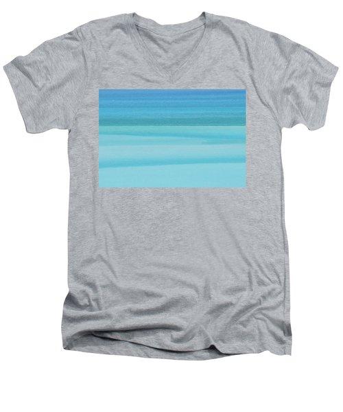 Depth Perception Men's V-Neck T-Shirt by Az Jackson
