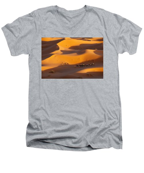 Desert And Caravan Men's V-Neck T-Shirt