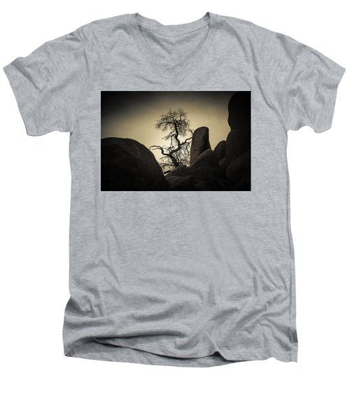 Desert Bonsai Men's V-Neck T-Shirt