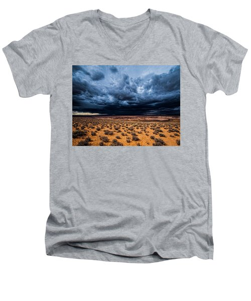 Desert Clouds Men's V-Neck T-Shirt