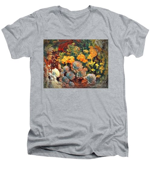 Desert Colors Men's V-Neck T-Shirt