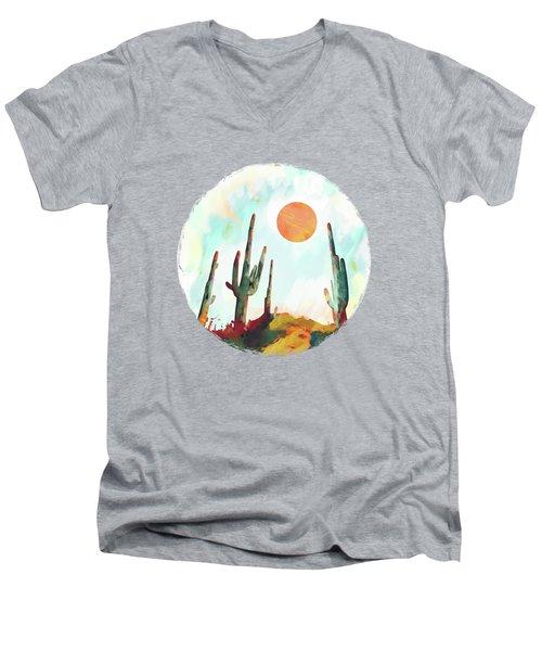 Desert Day Men's V-Neck T-Shirt