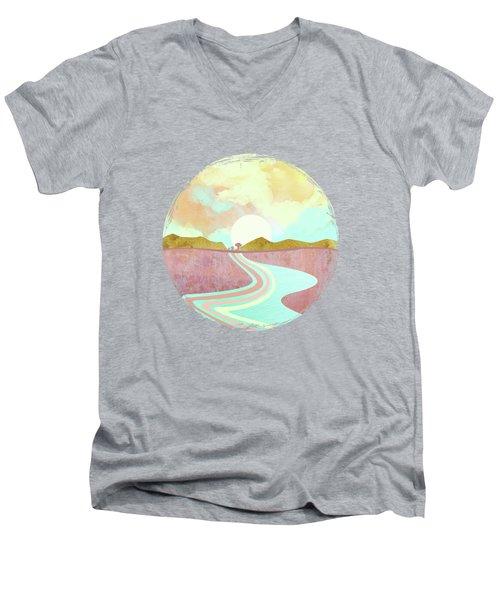 Desert Dusk Men's V-Neck T-Shirt